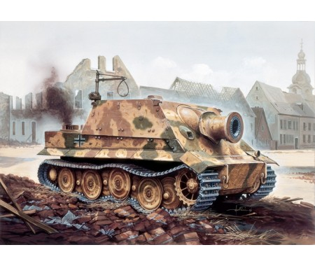 Italeri - 38 cm RW 61 auf Sturmmörser Tiger