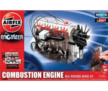 how to build a combustion engine