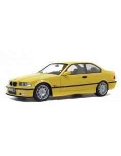 Solido - S1803902 - BMW M3 E36 Coupe Jaune Dakar 1994  - Hobby Sector