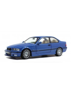 Solido - S1803901 - BMW M3 E36 Coupe Blue Estoril 1990  - Hobby Sector