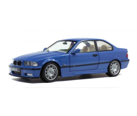 Solido - S1803901 - BMW M3 E36 Coupe Blue Estoril 1990  - Hobby Sector