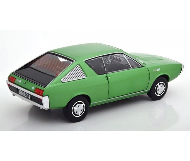 Solido - S1803701 - Renault R17 MK1 1976 Green Metallic  - Hobby Sector
