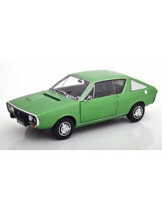 Solido - S1803701 - Renault R17 MK1 1976 Green Metallic  - Hobby Sector