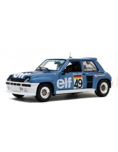 Solido - S1801307 - Renault 5 Turbo European Cup 1981 Walter Rohrl  - Hobby Sector