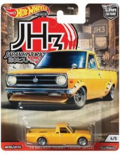 Hotwheels - hwmvFPY86-979P-4 - Datsun Sunny Truck (B120) 1975 - Japan Historics 3 4/5  - Hobby Sector