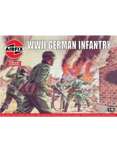 Airfix - A00715V - WWII German Infantry  - Hobby Sector