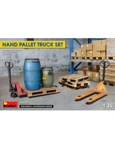 MiniArt - 35606 - Hand Pallet Truck Set  - Hobby Sector