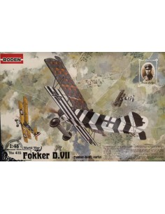 Roden - 415 - Fokker D.VII  - Hobby Sector