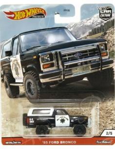 Hotwheels - hwmvFPY86-979Q-2 - Real Riders - '85 Ford Bronco - Wild Terrain 2/5  - Hobby Sector