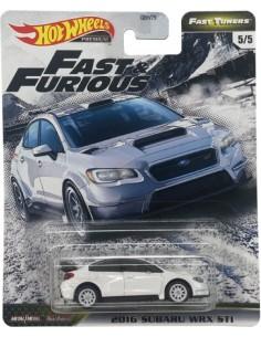 Hotwheels - hwmvGBW75-979F-5 - Real Riders - 2016 Subaru WRX STI - Fast & Furious 5/5  - Hobby Sector