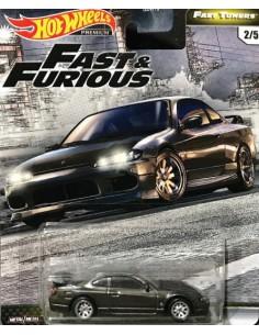 Hotwheels - hwmvGBW75-979F-2 - Real Riders - Nissan Silvia S15 - Fast & Furious 2/5  - Hobby Sector