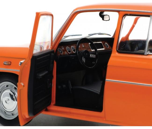 Solido - S1803603 - Renault 8 Gordini TS Orange 1967  - Hobby Sector