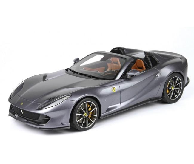 BBR - P18184A - Ferrari 812 GTS World premiere 2019 Grigio Alfieri  - Hobby Sector