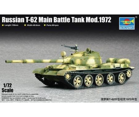 Trumpeter - 07147 - Russian T-62 Battle Tank Mod. 1972  - Hobby Sector