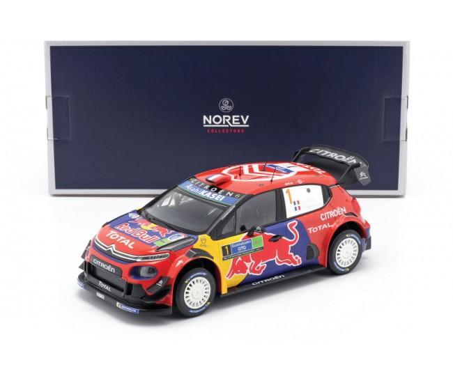 Norev - 181646 - Citroën C3 WRC N°1 - Winner Rally Mexico 2019 - S.Ogier/ J.Ingrassia  - Hobby Sector