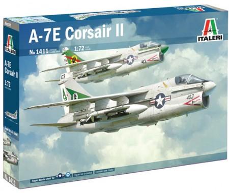 Italeri - 1411 - A-7E Corsair II  - Hobby Sector