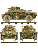 Italeri - Armored Vehicle AB 40, Rails Version