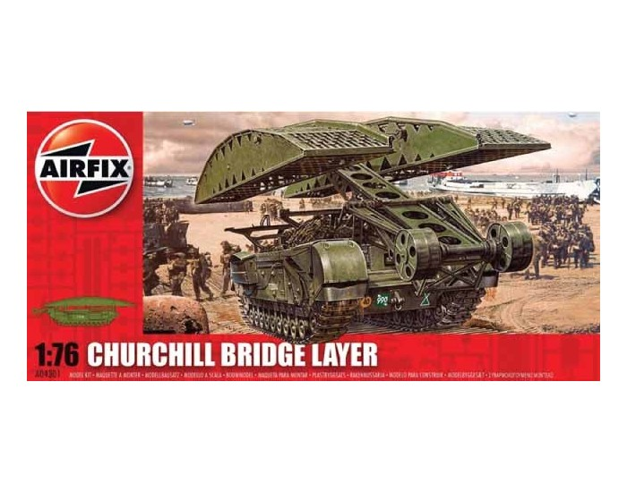 Airfix - A04301 - Airfix - Churchill Bridge Layer  - Hobby Sector