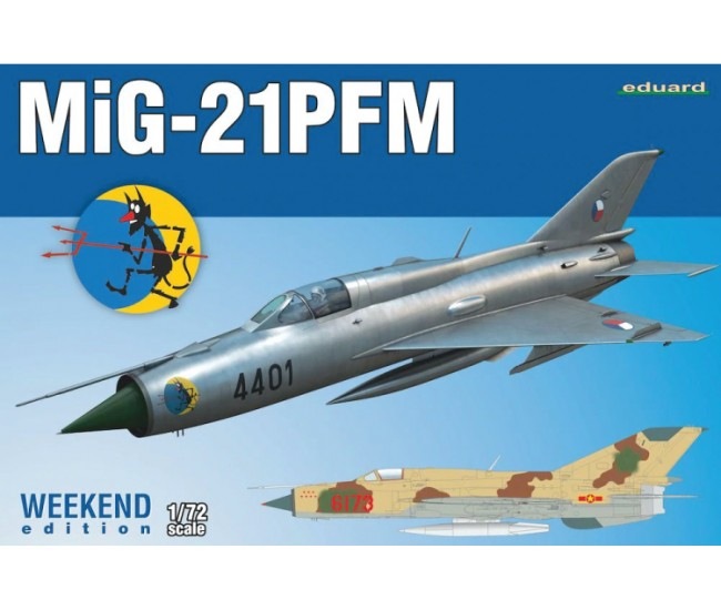 Eduard - 7454 - Mig-21 PFM - Weekend Edition  - Hobby Sector