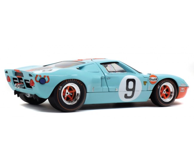 Solido - S1803001 - FORD GT 40 MK1 – WINNER LE MANS 1968 – P.RODRIGUEZ / L.BIANCHI  - Hobby Sector