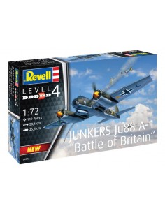 Revell - 04972 - Junkers Ju88 A-1 Battle of Britain  - Hobby Sector