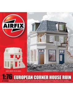 Airfix - European Corner House Ruin