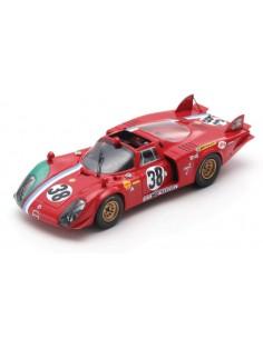 Spark - S8801 - Alfa Romeo T33/2 24H Le Mans 1969  - Hobby Sector