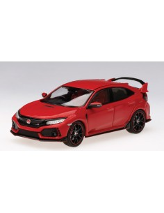 TSM - TrueScale Miniatures - TSM430273 - Honda Civic Type R 2017 rallye red (RHD)  - Hobby Sector