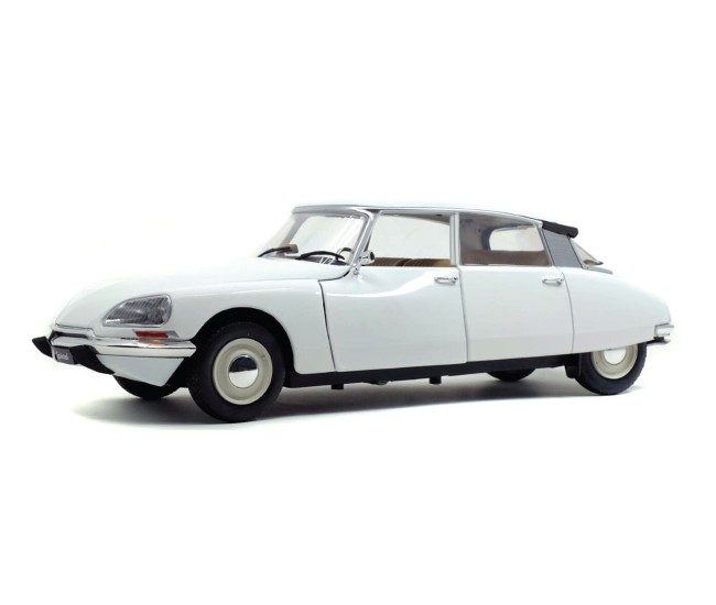 Solido - S1800705 - Citroen D Special blanche 1972  - Hobby Sector