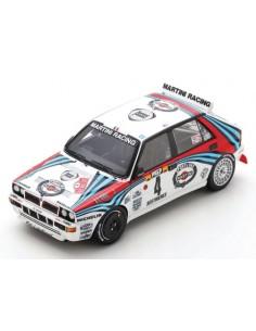 Spark - S9015 - Lancia Delta HF Integrale D. Auriol Rallye Monte Carlo 1992  - Hobby Sector