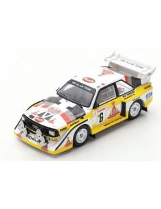 Spark - S5190 - Audi Quattro S1 E2 W. Roehrl Rallye Monte Carlo 1986  - Hobby Sector