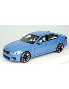 TSM - TrueScale Miniatures - TSM430381 - BMW M5 Yas Marina Blue Metallic  - Hobby Sector