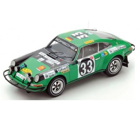 Spark - 18S285 - Porsche 911 ST N33 East African Safari Rally 1971  - Hobby Sector