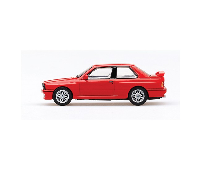 TSM - TrueScale Miniatures - MGT00043-L - BMW M3 E30 LHD Red  - Hobby Sector