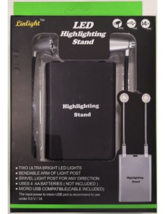 Triple 9 - T9-7001bk - Bendable Led Light Stand  - Hobby Sector