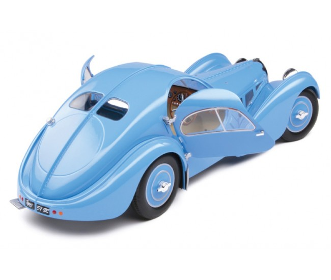 Solido - S1802104 - Bugatti Type 57 SC Atlantic T35 Blue 1937  - Hobby Sector