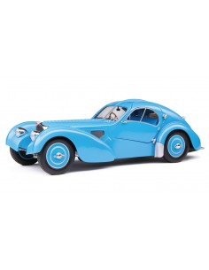 Solido - S1802104 - Bugatti Type 57 SC Atlantic T35 Blue 1937  - Hobby Sector