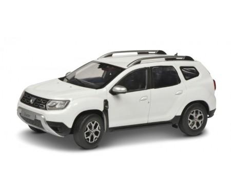 Solido - S1804602 - Dacia Duster MK2 Blanc 2018  - Hobby Sector