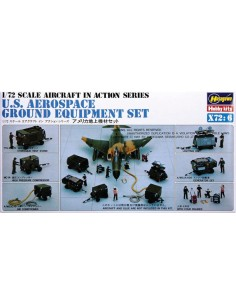 Hasegawa - 35006 - U.S. Aerospace Ground Equipment Set  - Hobby Sector