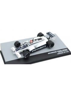 Altaya - magkF1Piq5 - Brabham Ford BT49C Nelson Piquet Germany GP 1981  - Hobby Sector