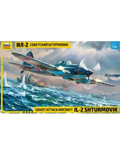 Zvezda - 4825 - IL-2 Shturmovik  - Hobby Sector