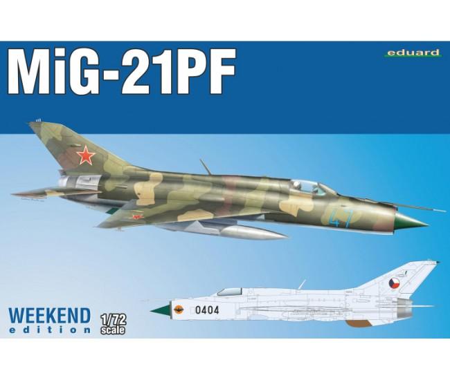 Eduard - 7455 - Mig-21PF  - Hobby Sector