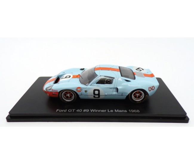 Altaya - SPA4 - Ford GT 40 Winner Le Mans 1968  - Hobby Sector
