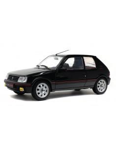 Solido - S1801707 - Peugeot 205 GTI Noir Onix 1990  - Hobby Sector
