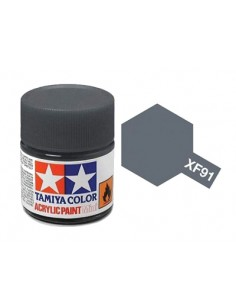 Tamiya - XF-91 - XF-91 IJN Gray - 10ml Acrylic Paint  - Hobby Sector