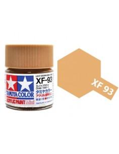 Tamiya - XF-93 - XF-93 Light Brown - 10ml Acrylic Paint  - Hobby Sector