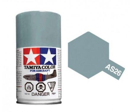 Tamiya - AS-26 - Light Ghost Grey 100ml Acrylic Spray  - Hobby Sector