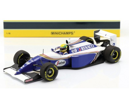 Minichamps - 540941832 - Williams Renault FW16 Ayrton Senna San Marino GP 1994  - Hobby Sector