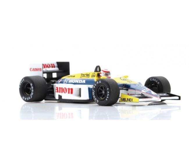 Spark - S7480 - Williams FW11 Nelson Piquet winner brazil GP 1986  - Hobby Sector