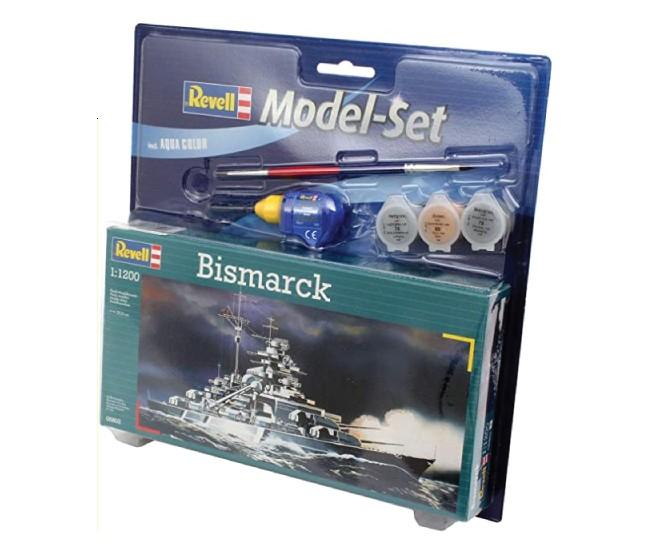 Revell - 65802 - Bismarck Model Set  - Hobby Sector